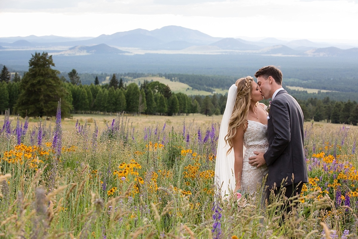 Snowbowl Resort Flagstaff Wedding