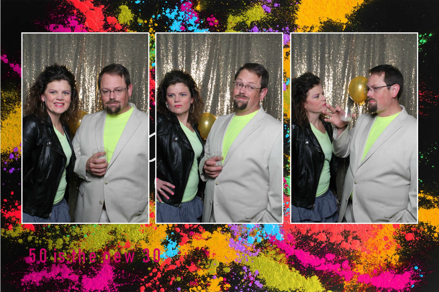 80s Party Photo Booth theme
